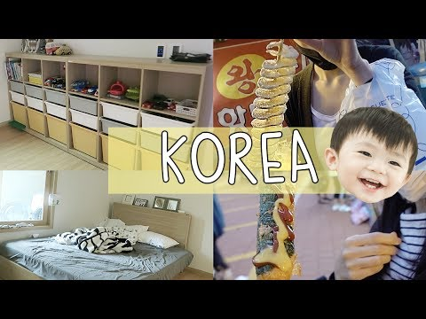 KOREA DIARY | FINALLY NEW FURNITURE! + Korean Street Foods! FESTIVAL! =)