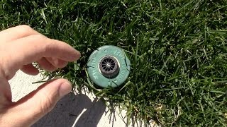 How to replace a sprinkler spray head