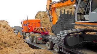 RC Excavator In Action! Amazing RCR Volvo A45G Work 2018 ! R/C Liebherr Digger 970