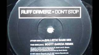 SPEED GARAGE - RUFF DRIVERZ - DONT
