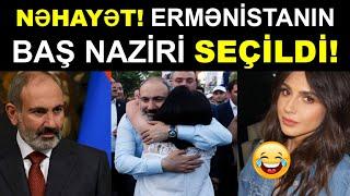 Yekun xeberler. Ermənistanın Baş Naziri SEÇİLDİ! Son xeberler bugun 2021. ermenistanda son veziyyet