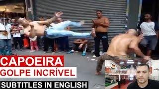 GOLPE INCRÍVEL DE CAPOEIRA - RODA COM FINAL EMOCIONATE thumbnail
