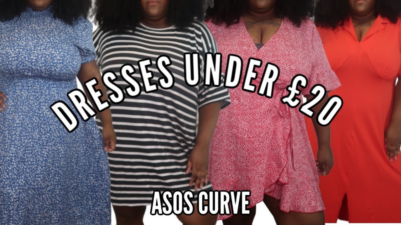 ASOS PLUS SIZE HAUL // SUMMER DRESSES UNDER £20!!