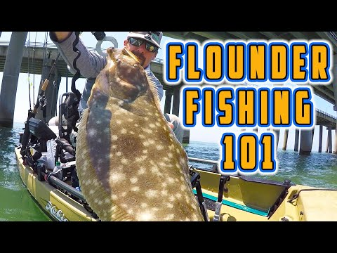 HOW TO CATCH FLOUNDER! (Flounder Fishing Guide With Tackle And Techniques)