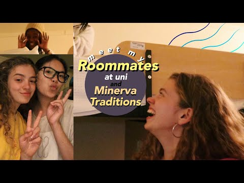 Meet My Roommates At Uni, Room Tour And Minerva Traditions: Ukrainian 10:01 🌎