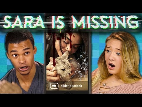 SARA IS MISSING S.I.M. | Creepy Horror Game (Teens React: Gaming)