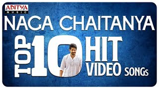 Nagachaitanya Top10 Hit Video Songs LIVE || #AkkineniNagaChaitanya