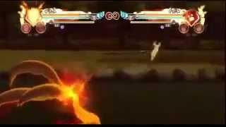 Naruto Storm Generations - Naruto Rikudou x Kyuubi 4 caldas