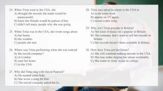 FCE First Certificate in English Listening Test | Part 4