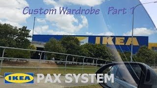 IKEA pax system 으로 붙박이장 만들기 1편…