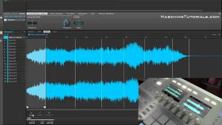 Maschine Studio & Maschine 2.0 sampler slicing, edit range, & layering