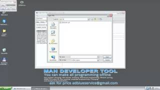 DEVELOPER TOOL for MAN CATS T200 - offline programing - программирование ман