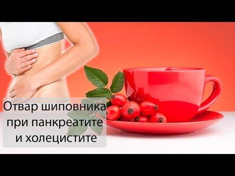 Как приготовить настой и отвар шиповника при панкреатите и холецистите?