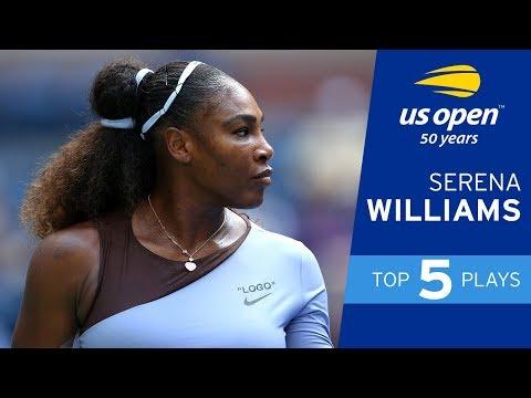 Top 5 Plays of Week 1: Serena Williams