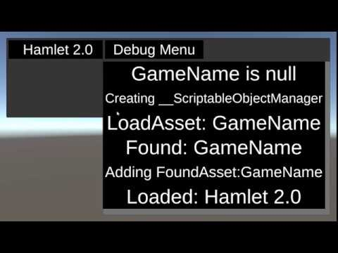 ScriptableObjects at RunTime (in the Game) |