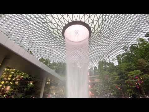 Jewel Changi Airport Singapore - Walking in