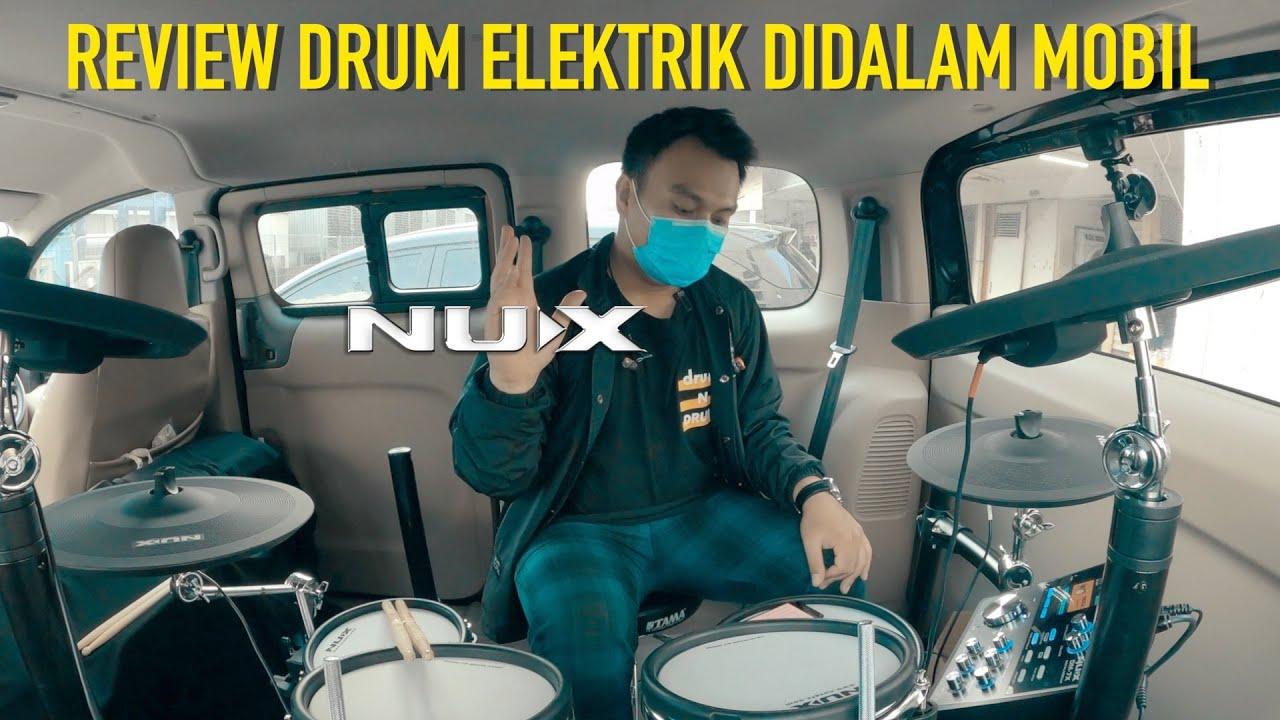 REVIEW DRUM ELECTRIC NUX DM7X SETELAH DITUNNING