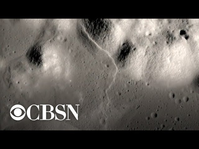 "NASA says the moon is shrinking and experiencing ""moonquakes"""