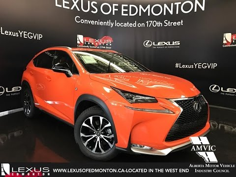 Lexus Nx 200T F Sport >> 2017 Orange Lexus NX 200t AWD F Sport Series 1 In Depth ...