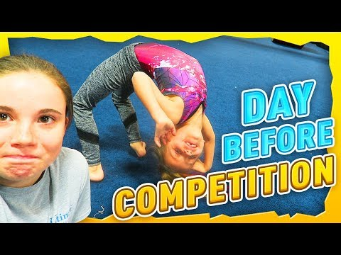 Coach Life: Day Before Gymnastics Competition| Rachel Marie