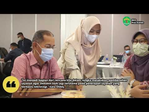 BKD Prov. Kaltim Bangun SI Manajemen Assessment Center