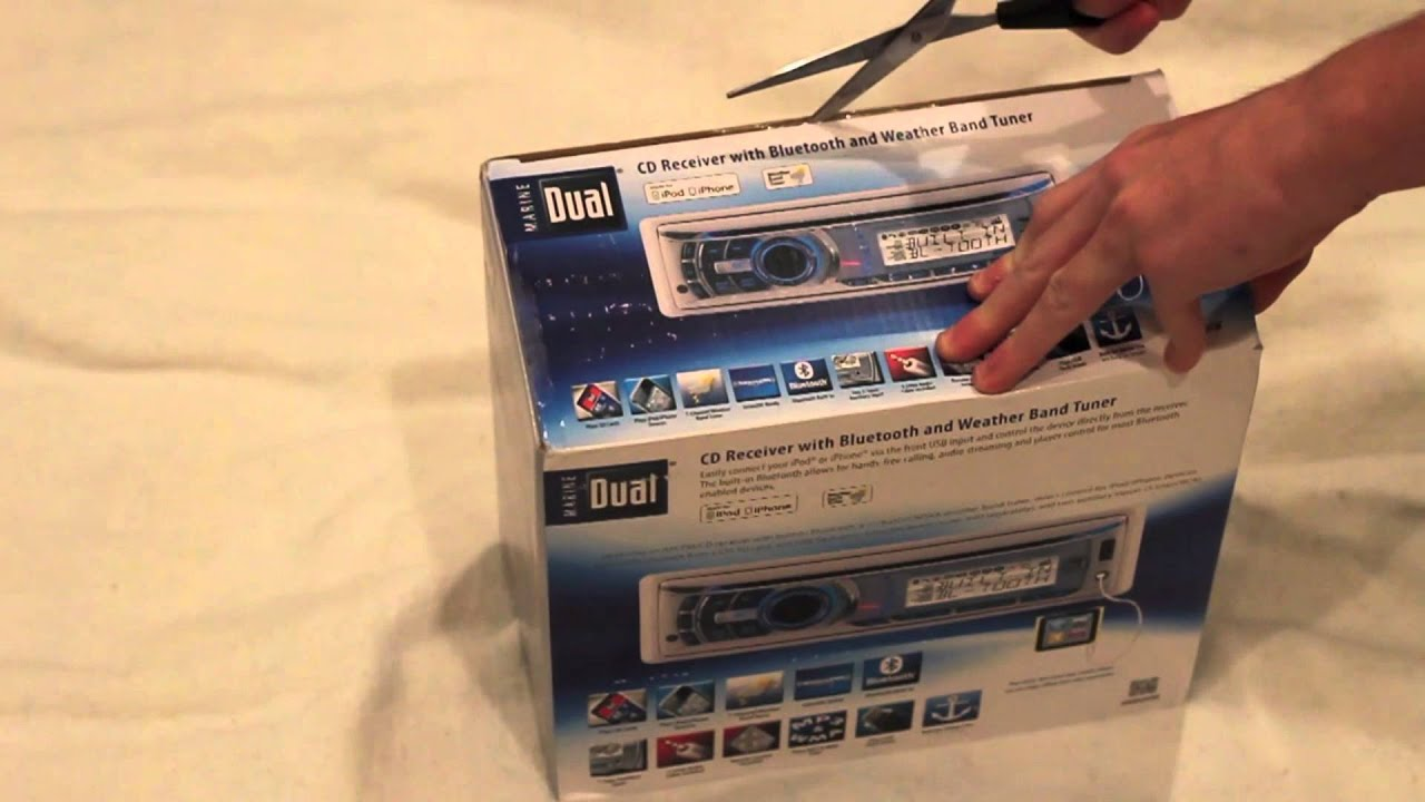 maxresdefault dual bluetooth marine radio unboxing youtube dual mxdm66 wiring diagram at edmiracle.co