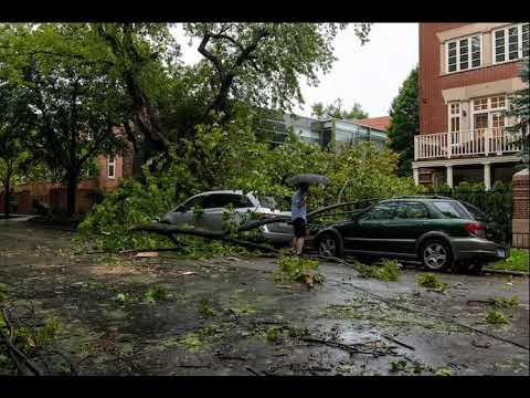 Violent thunderstorms, derecho possible in Upper Midwest ...