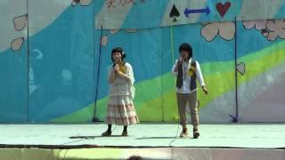 静岡大学・春のビッグフェスティバル【男装・女装コンテスト】 デュエッ...