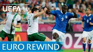 UEFA EURO 2012 highlights: Italy 2-0 Republic of Ireland