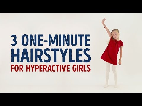 3 Adorable 1-minute Hairstyles For Girls L 5-MINUTE CRAFTS