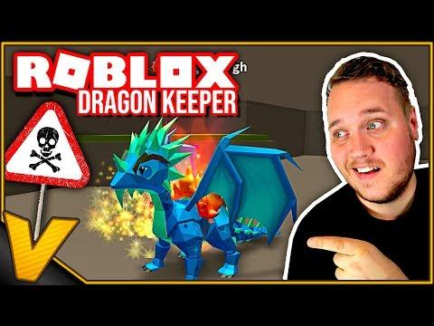 UPDATE: PORTAL TIL NYT LAND - FLOT EPIC DRAGE! - Dragon Keeper Roblox