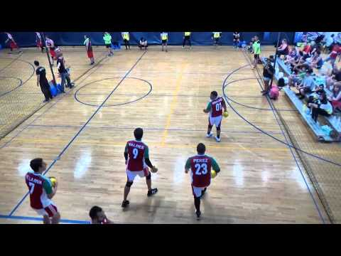 2015 WDBF Mens round robin Malaysia vs Mexico