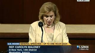 Representative Carolyn Maloney