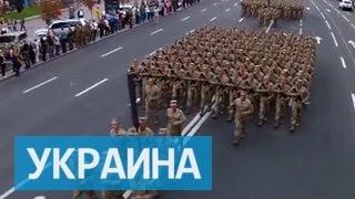 День независимости Украина встречает маршем единства в форме НАТО