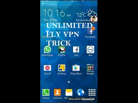 How To Use FLY VPN UnLimited Time (Urdu/Hindhi)(2017)