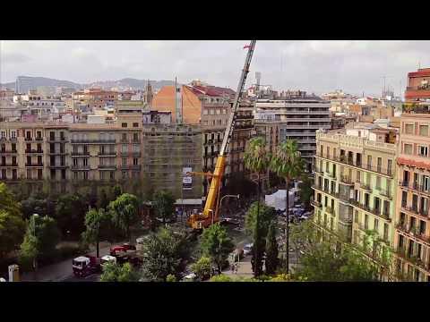 """Extrait du documentaire """"Sur les toits des villes, Barcelone"""" CanalARTE+7"""