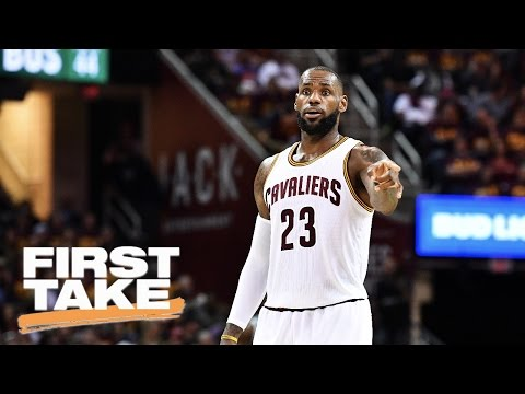 LeBron James Not MVP Finalist | First Take | May 22, 2017