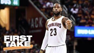 LeBron James Not MVP Finalist | First Take | May 22, 2017