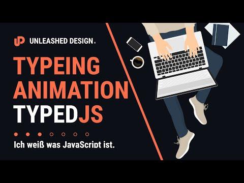⌨️ Type Animation einfach gemacht mit TypedJS! ? [TUTORIAL] thumbnail