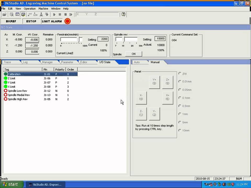 03 Nc Studio Limit Switches Cnc Milling By Www Salecnc Com