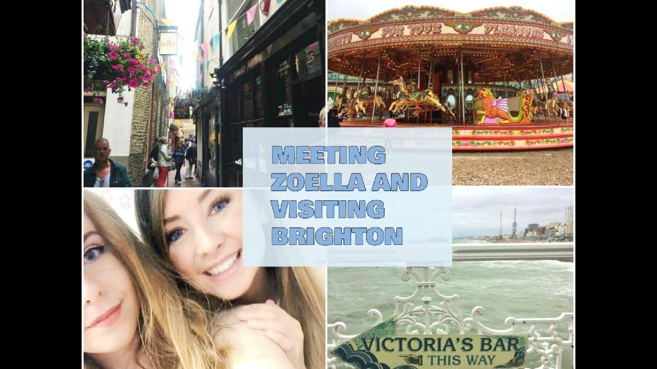 Meeting Zoella And Visiting Brighton Youtube