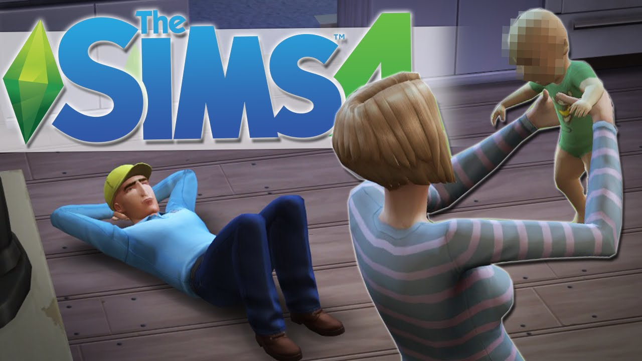 Here Comes The Baby The Sims 4 Gameplay 7 Youtube
