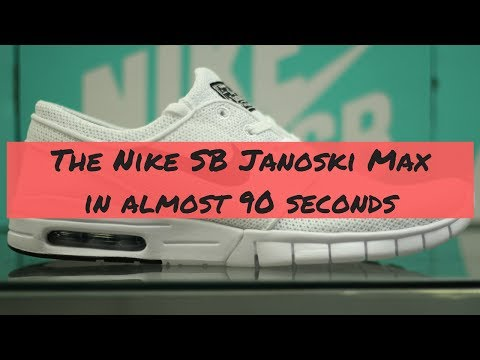 bf5a5250f0 The Nike SB Stefan Janoski Max in (almost) 90 Seconds - YouTube