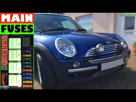 mini cooper fuse box replacement how to check main fuses on mini r50 r53 2000 2006 first generation  main fuses on mini r50 r53 2000 2006