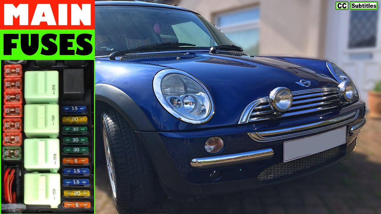Fuse Diagram On 2006 Mini Cooper - Get Rid Of Wiring Diagram Problem