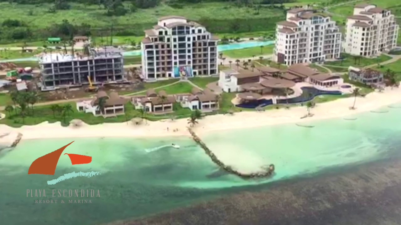 Heliflight Playa Escondida Resort Marina Youtube