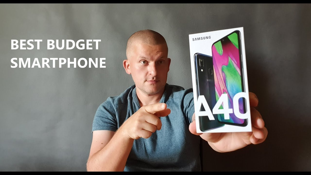 Samsung Galaxy A40 - Обзор