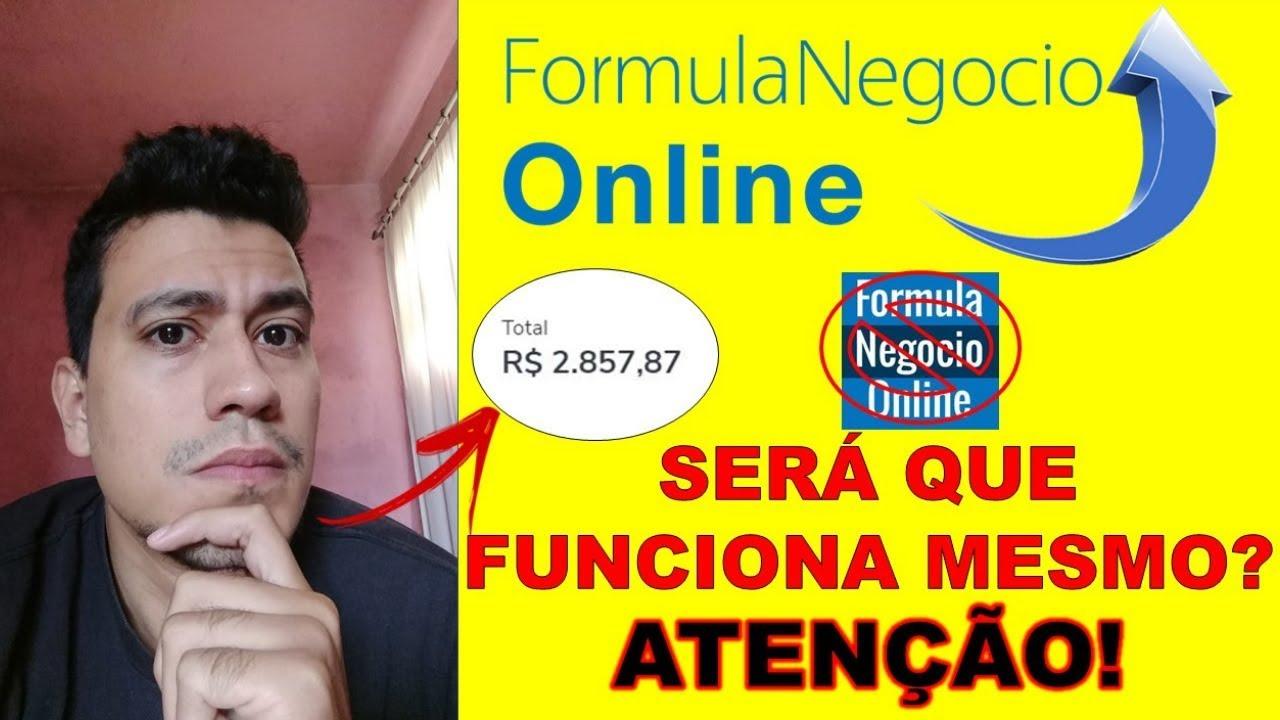 O CURSO FORMULA NEGOCIO ONLINE FUNCIONA? (MOSTREI MEUS RESULTADOS)