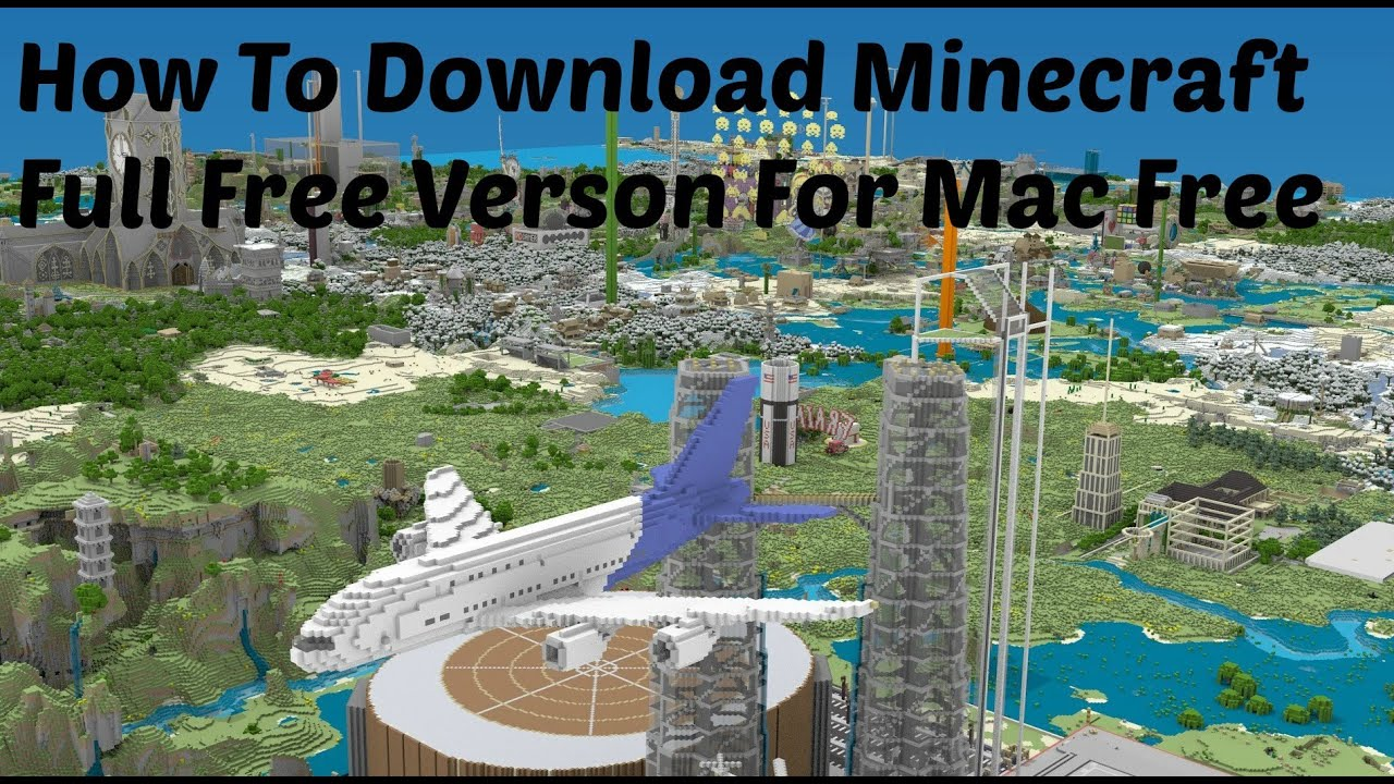 Minecraft Cracked Free Download Mac