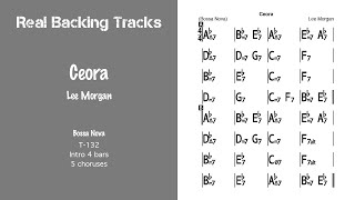 Ceora - Real Jazz Backing Track - Jazz Play Along -